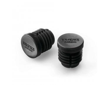 Brooks handlebar end plugs for Cambium black