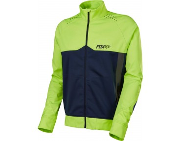 FOX BIONIC LT softshell jacket flo yellow
