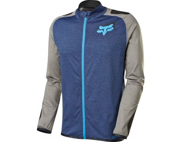 FOX EQUILIBRIUM long-sleeved jersey heather navy