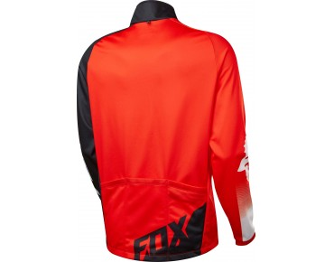 FOX LIVEWIRE SHIELD windproof long-sleeved jersey red/black