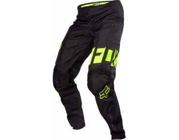 FOX DEMO Pants black/yellow