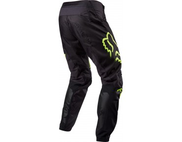 FOX DEMO trousers black/yellow