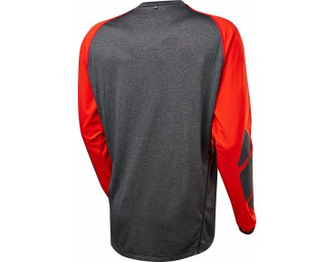 FOX EXPLORE Langarm Bikeshirt black/red