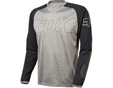 FOX EXLORE long-sleeved shirt charcoal black