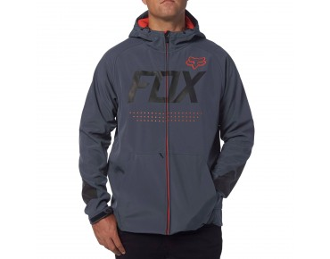 FOX BIONIC BRAWLED Softshell Jacke pewter