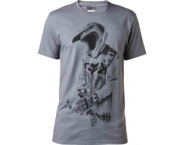 FOX DEATH BY MOMENTUM T-Shirt heather graphite