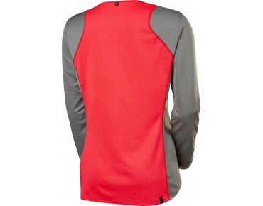 FOX RIPLEY long-sleeved cycling shirt for women grey