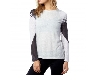 FOX LIBRA women's long-sleeved shirt light heather grey