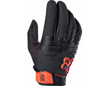 FOX SIDEWINDER POLAR - guanti black/red