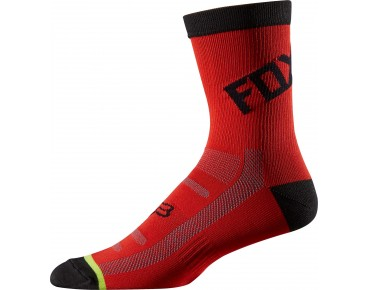 FOX DH socks red/black
