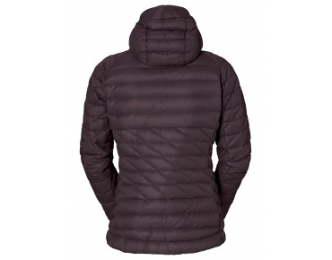 VAUDE KABRU HOODED II women's down jacket raisin