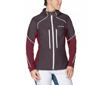 VAUDE LARICE II women's softshell jacket raisin