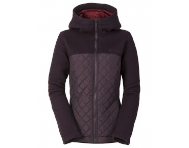VAUDE GODHAVN PADDED women's jacket raisin