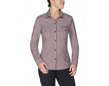 VAUDE JERPEN LS Damen Shirt raisin