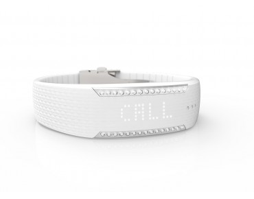 Polar Loop 2 - orologio fitness crystal powder white