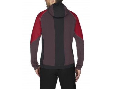 VAUDE LARICE II softshell jacket indian red