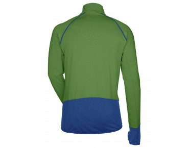 VAUDE LIVIGNO HALFZIP long-sleeved thermal jersey parrot green