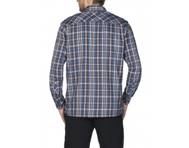 VAUDE NESHAN II long-sleeved shirt washed blue