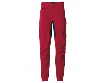 VAUDE QIMSA II women's softshell trousers indian red