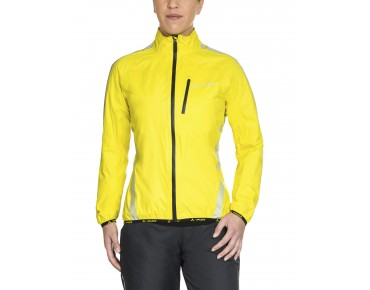 VAUDE LUMINUM PERFORMANCE waterproof jacket for women canary