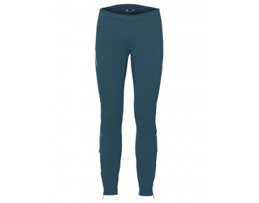VAUDE WINTRY PANTS III women's soft shell trousers blue sapphire