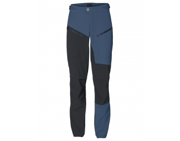 VAUDE MORZINE ZO soft shell trousers fjord blue