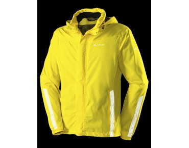 VAUDE LUMINUM waterproof jacket canary
