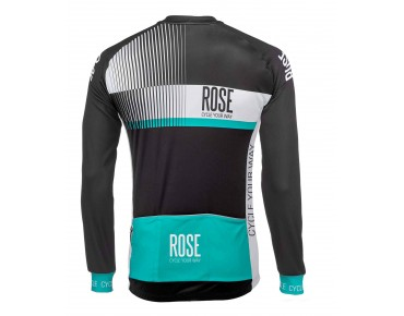 ROSE TOP CYW thermal long-sleeved jersey black/white/malibu