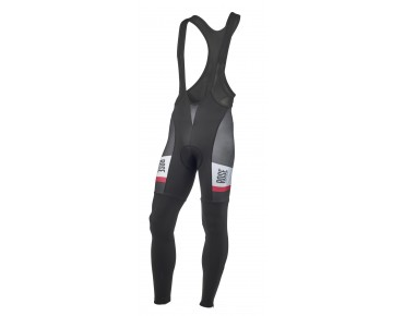 ROSE TOP CYW thermal bib tights black/white/red
