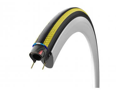 Vittoria Rubino Pro IV GraphenePlus road tyre black/yellow