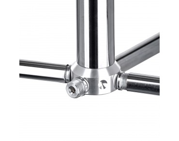 ROSE Rastplatz Comp bicycle rack silver