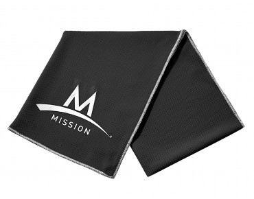 MISSION TECHKNIT COOLING towel black
