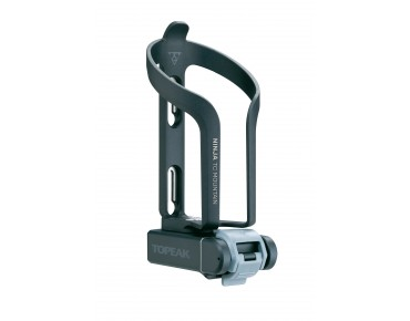 Topeak Ninja TC Mountain bottle cage with tool case and mini tool schwarz