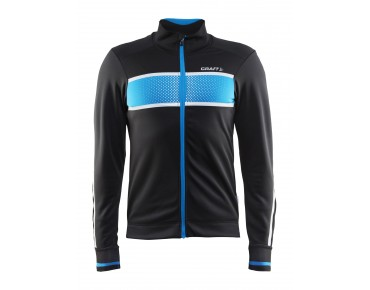 CRAFT GLOW thermal windbreaker black/pacific