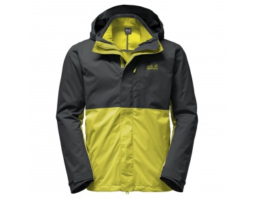 Jack Wolfskin NIMROD 3in1 winter jacket wilde lime