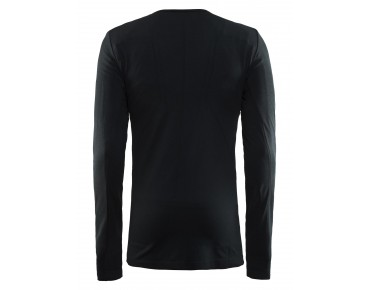 CRAFT ACTIVE COMFORT long-sleeved base layer black solid