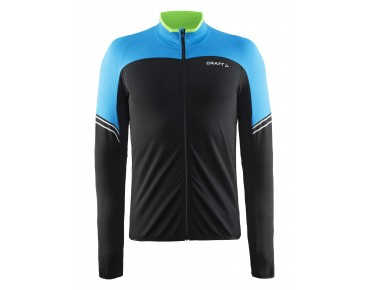 CRAFT VELO thermal long-sleeved jersey black/pacific