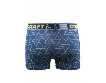 CRAFT GREATNESS BOXER 3-INCH BOXER SHORTS caleido deep/vega