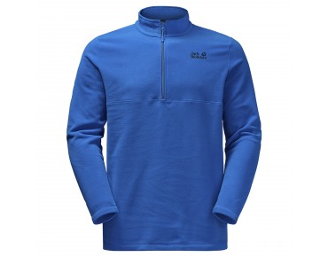 Jack Wolfskin GECKO fleece shirt azure blue