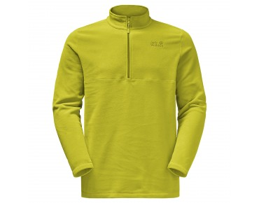 Jack Wolfskin GECKO fleece shirt wild lime