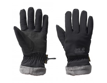 Jack Wolfskin STORMLOCK HIGHLOFT women's gloves black