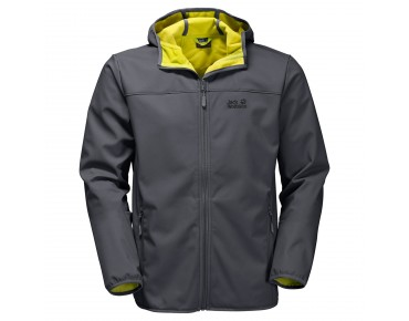 Jack Wolfskin NORTHERN POINT softshell jacket ebony