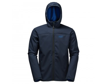 Jack Wolfskin NORTHERN POINT softshell jacket night  blue