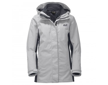 Jack Wolfskin VIKING SKY 3in1 women's winter jacket grey haze