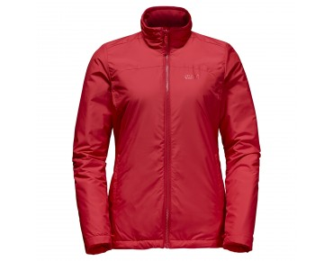 Jack Wolfskin ECHO BAY 3in1 women's winter jacket hibiscus red
