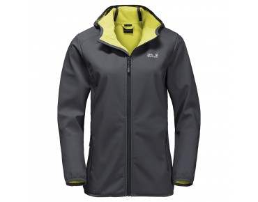 Jack Wolfskin NORTHERN POINT Damen Softshell Jacke ebony