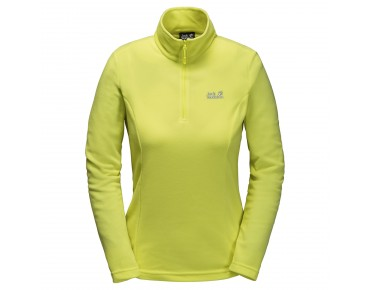 Jack Wolfskin GECKO women's fleece shirt bright absinth