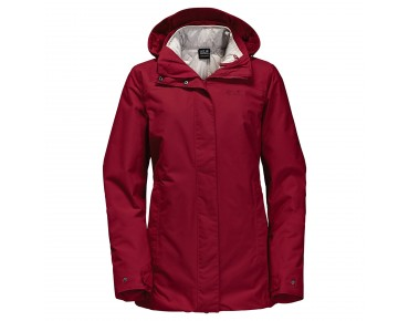 Jack Wolfskin VERNON 3in1 women's winter jacket indian red