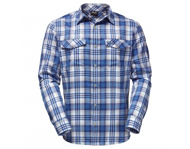 Jack Wolfskin EVAN shirt brilliant blue checks