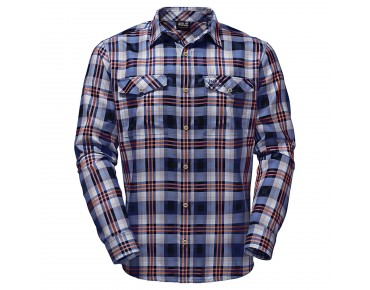 Jack Wolfskin EVAN shirt night blue checks